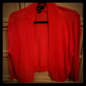 Xl Red shrug sweater